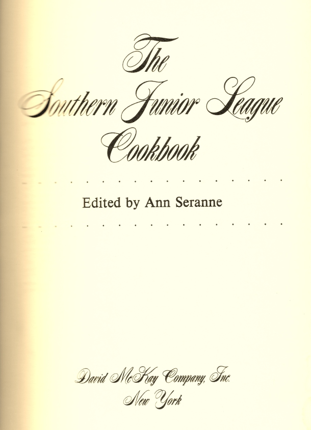 junior league cookbook