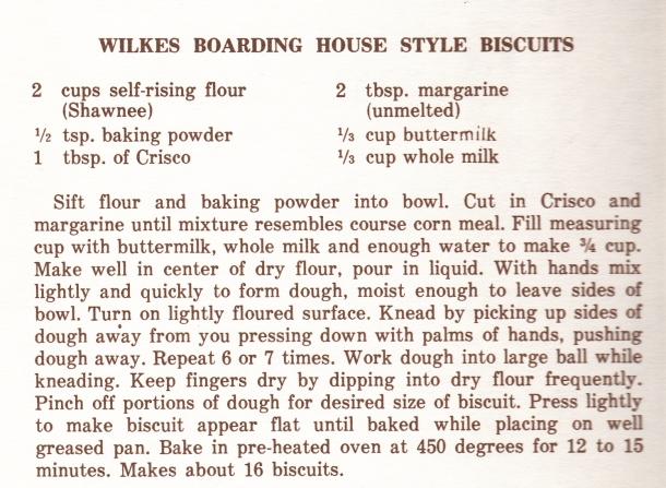 Mrs Wilkes Biscuits