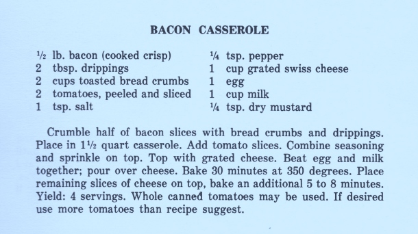 baconn casserole