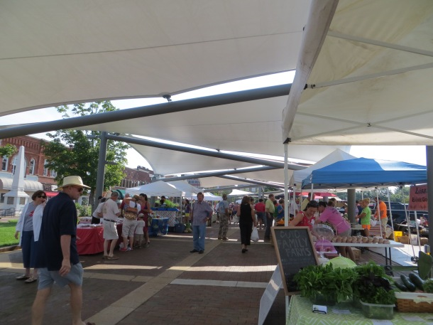 Entrance to Farmers Market