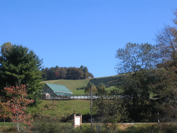 Fall Virginia Mountain View
