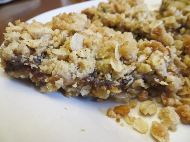 oatmeal apple butter brownies 014
