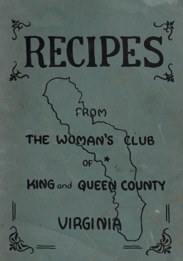 old Va Cookbook