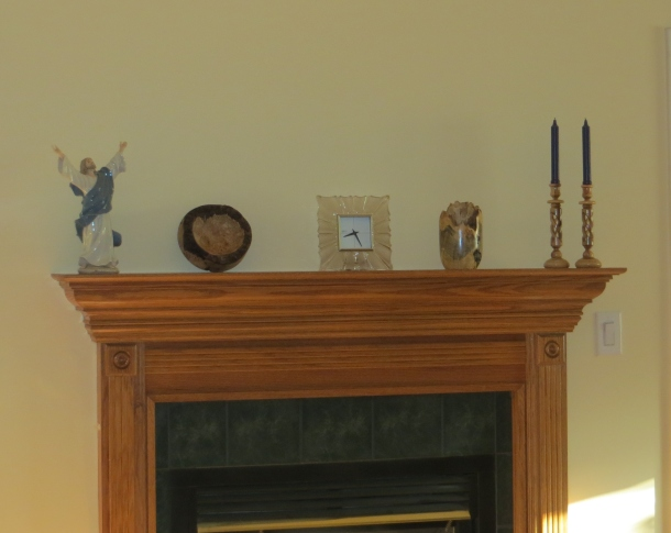Mantel in Great Room