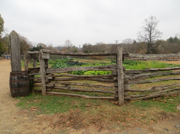 A Garden at OId Salem in Winston Salem