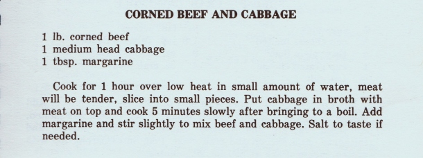 Mrs. Wilkes Corned Beef and Cabbage