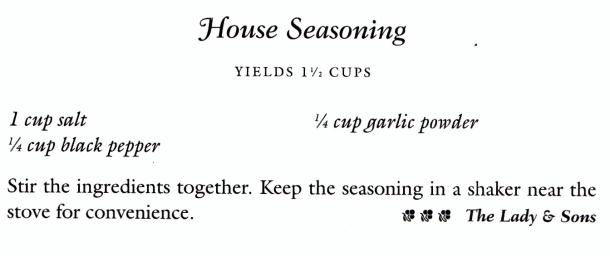 Paula's House Seasoning