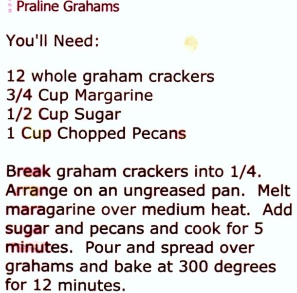 praline grahams