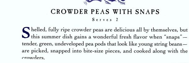 crowder peas 1