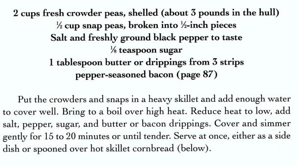 crowder peas 2