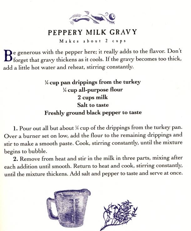 pepper gravy