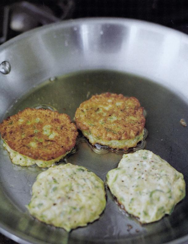 zuchini pancakes 2