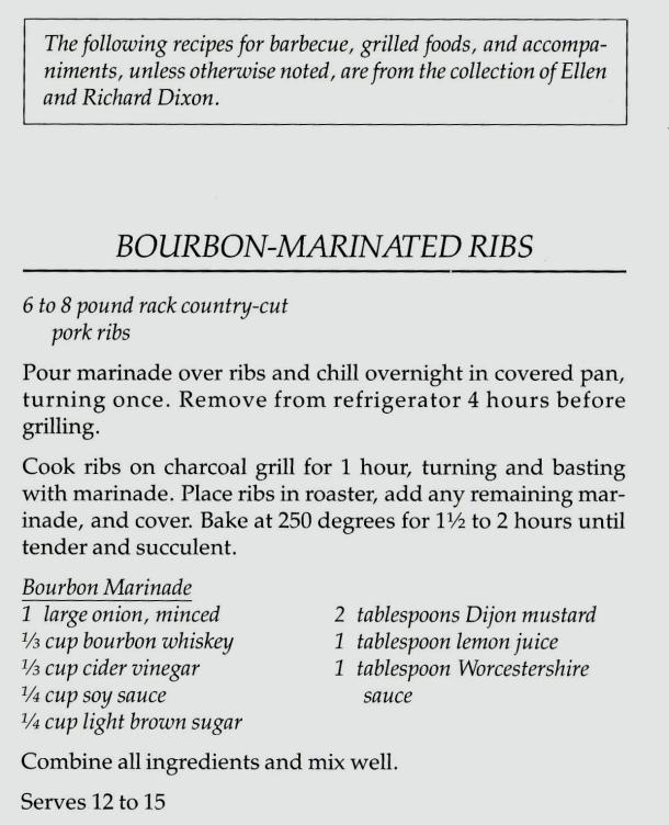 bourbon ribs
