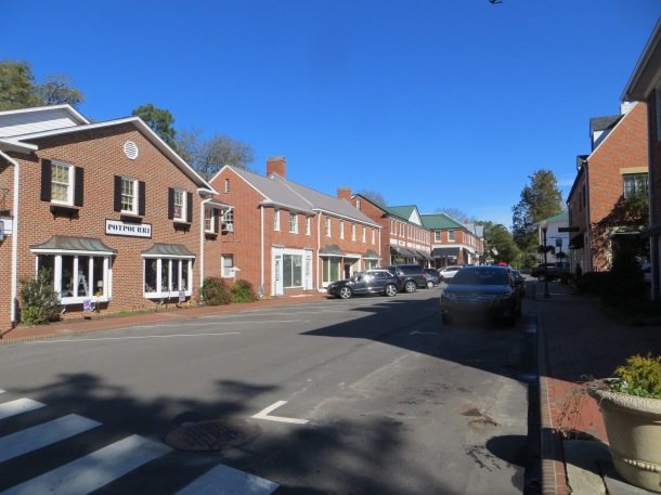 Picture of the Downtown Village of Pinehurst
