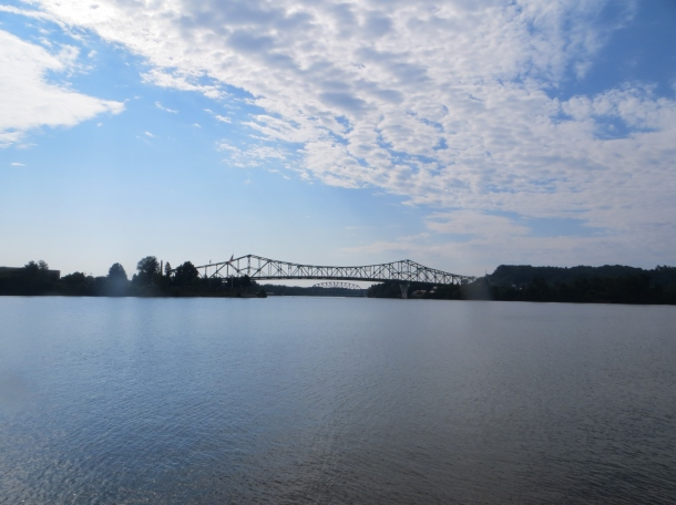 Ohio River Between West Virginia and Ohio