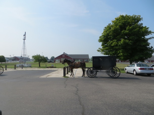 Downtown Shipshewana, Indiana  - An Amish Community