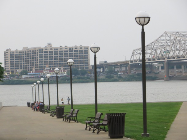 Waterfront Park in Downtown Louisville, KY