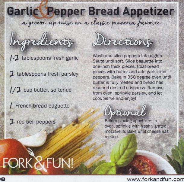 garlic bread appetizer