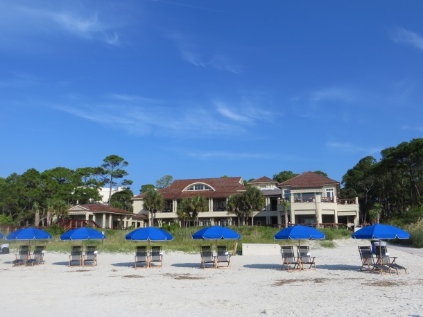 View of Sea Pines Beach Club from the water