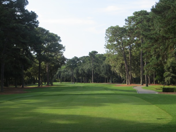 View of Sea Pines Golf Course