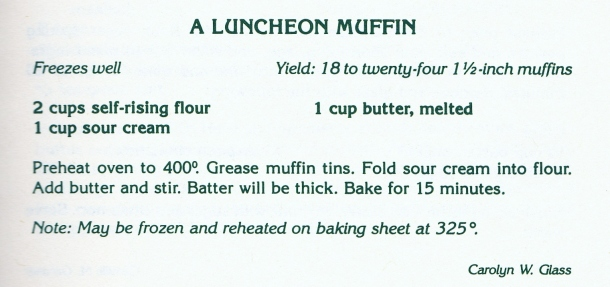 luncheon muffin