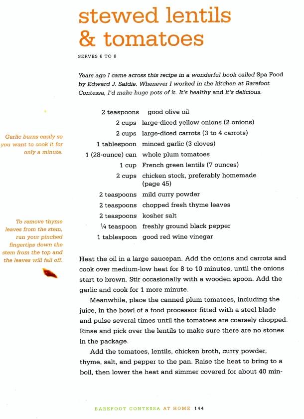 lentils page 1