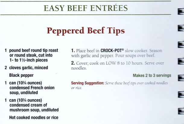 crockpot beef and noodles