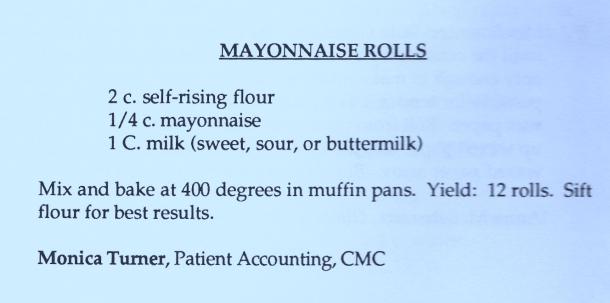 mayo rolls