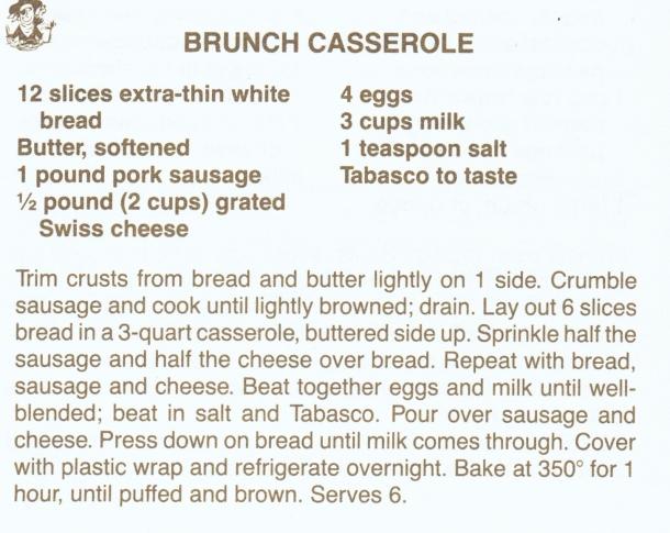 brunch casserole