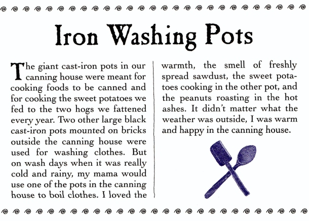 wash pot