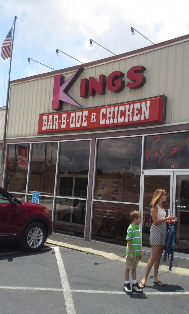 Kings Barbecue in downtown Kinston, NC