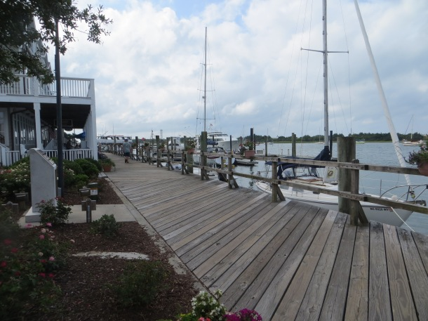 Boardwalk in Downtown Beaufort, NC