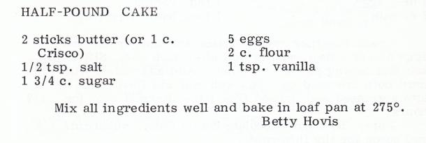 sp Pound Cake