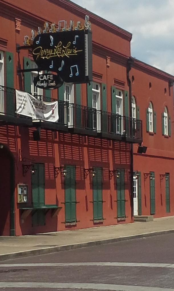 Jerry Lee Lewis Club on Beale Street