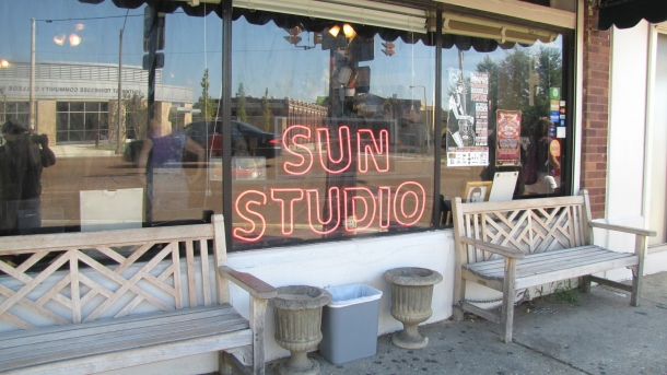 Sun Studio is very small but you can still make a recording in their studio