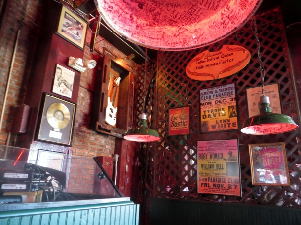 View from our table Rum Boogie Cafe - Beale Street