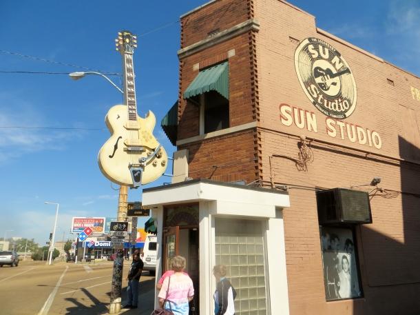Sun Studio - Sam Phillips Blvd, Memphis