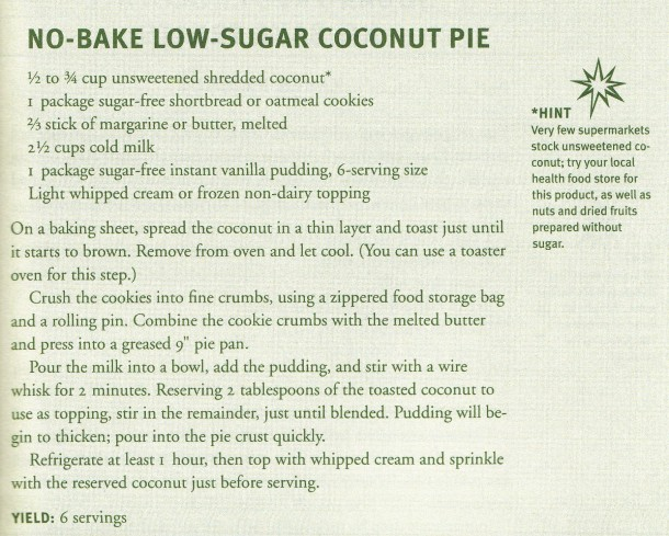 low-sugar-coconut-pie