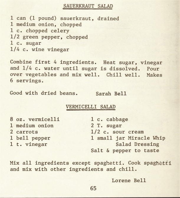 sauerkraut-salad